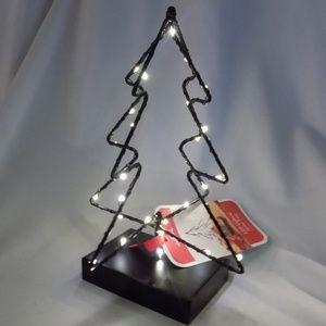 Hallmark Tabletop Minimalist LED Holiday Tree